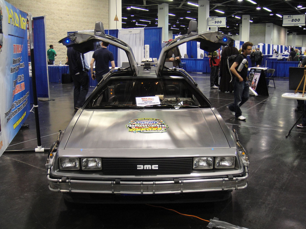 Paul Nigh's Time Car DeLorean from Back To The Future II